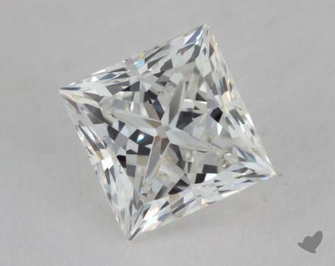 1.01 Carat H-VVS2 Ideal Cut Princess Diamond