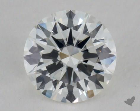 0.47 Carat H-VS2 Very Good Cut Round Diamond