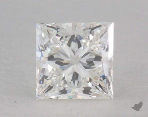 0.52 Carat H-VS1 Ideal Cut Princess Diamond