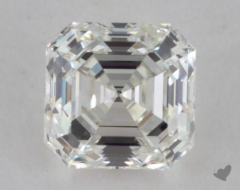 0.91 Carat I-VS1 Asscher Cut Diamond