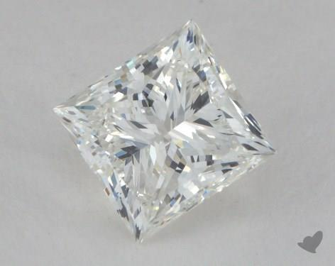 1.21 Carat H-SI1 Ideal Cut Princess Diamond