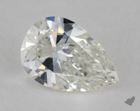 1.53 Carat H-VS2 Pear Shaped  Diamond