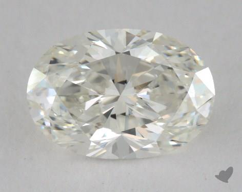 1.53 Carat H-VVS2 Oval Cut Diamond