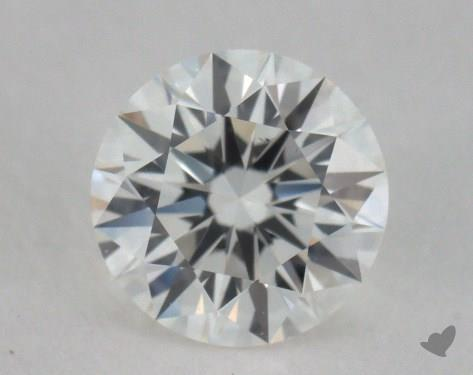 0.55 Carat H-VS2 Excellent Cut Round Diamond