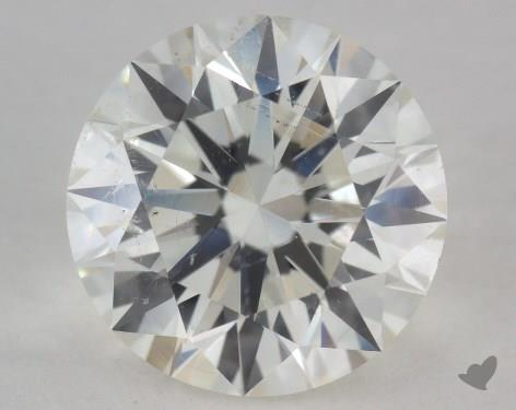 3.02 Carat I-SI2 Excellent Cut Round Diamond