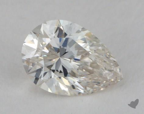 0.72 Carat H-VS2 Pear Shaped  Diamond