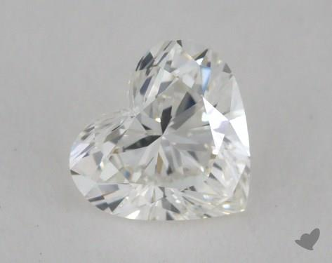 0.51 Carat H-VS2 Heart Shape Diamond