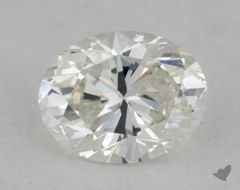 0.73 Carat H-VVS2 Oval Cut  Diamond