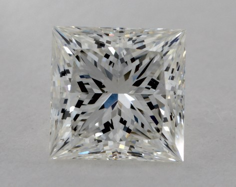 1.53 Carat I-SI1 Ideal Cut Princess Diamond