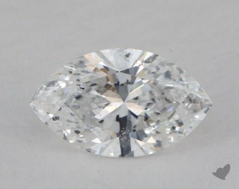 0.83 Carat D-I1 Marquise Cut  Diamond