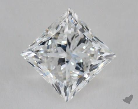 2.52 Carat F-SI1 Ideal Cut Princess Diamond