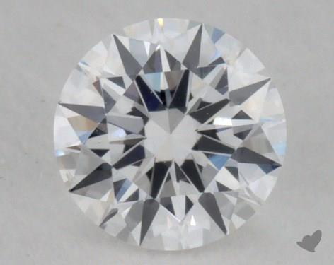 0.30 Carat D-SI1 Excellent Cut Round Diamond