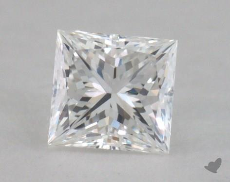 0.50 Carat D-VVS2 Princess Cut  Diamond
