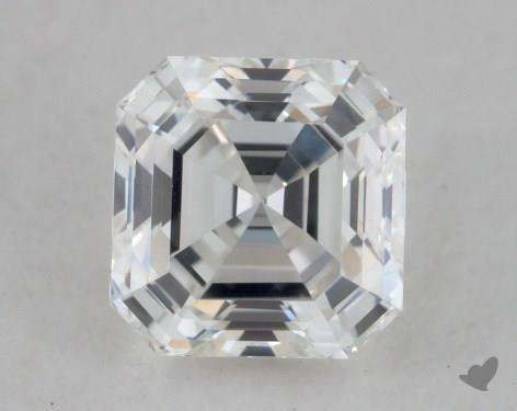 0.85 Carat H-VVS2 Asscher Cut Diamond