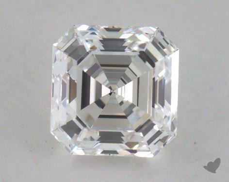 0.81 Carat H-VS1 Asscher Cut Diamond
