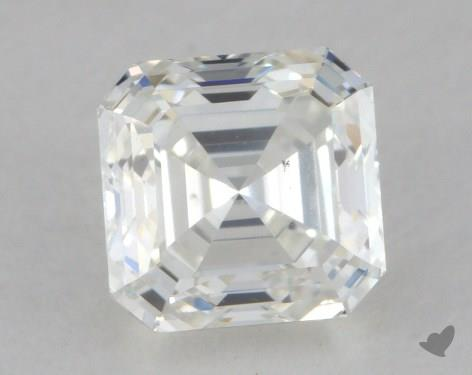 0.84 Carat H-VS2 Asscher Cut Diamond