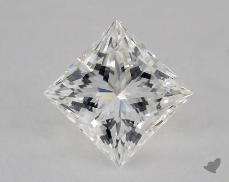 1.57 Carat H-VVS2 Ideal Cut Princess Diamond