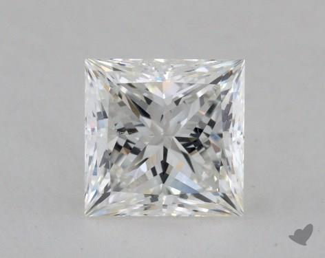 2.02 Carat F-SI2 Ideal Cut Princess Diamond