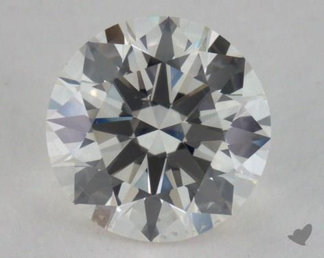 1.57 Carat J-SI1 Excellent Cut Round Diamond