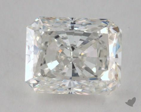 2.01 Carat H-SI1 Radiant Cut Diamond