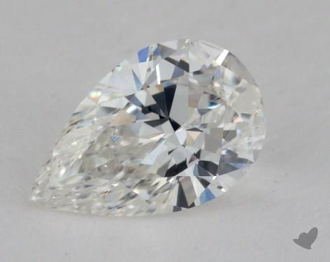 1.01 Carat G-SI1 Pear Shaped  Diamond