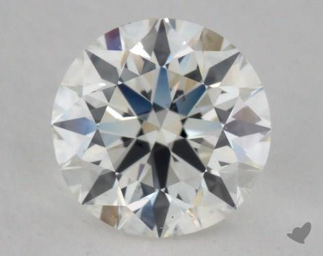 0.90 Carat H-SI1 Excellent Cut Round Diamond