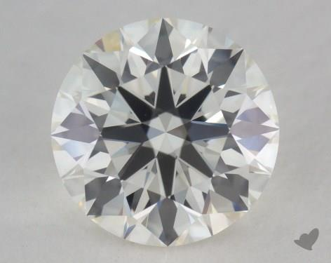 1.51 Carat J-VVS1 Excellent Cut Round Diamond