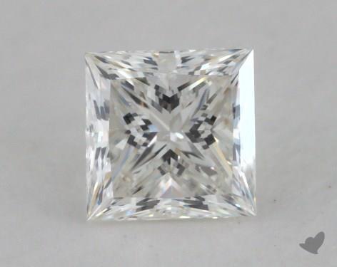 0.80 Carat H-VS1 Ideal Cut Princess Diamond