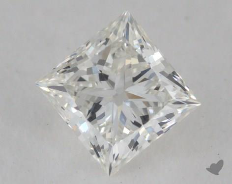 0.50 Carat G-VS1 Ideal Cut Princess Diamond