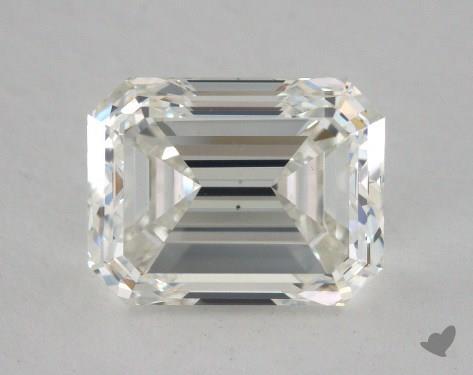 2.28 Carat H-VS2 Emerald Cut Diamond