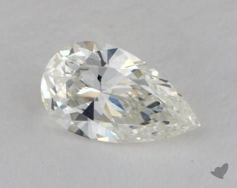 0.52 Carat H-VS2 Pear Cut Diamond