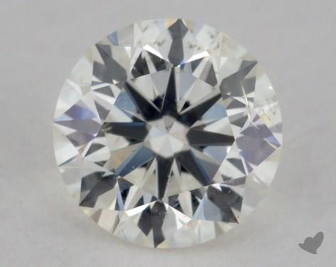 1.02 Carat J-SI2 Excellent Cut Round Diamond