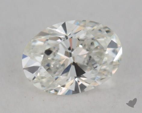 1.50 Carat H-SI1 Oval Cut Diamond