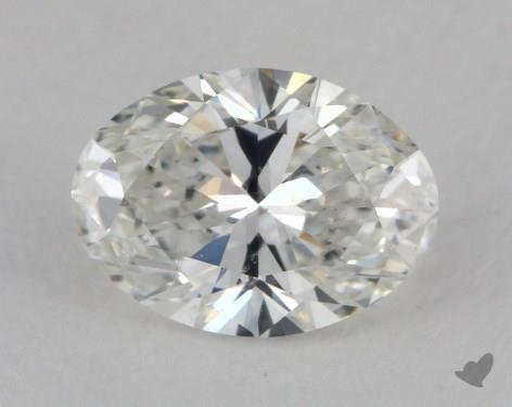 1.02 Carat H-SI1 Oval Cut Diamond