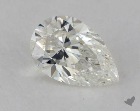 0.90 Carat H-VS2 Pear Shape Diamond