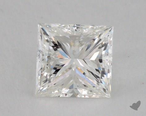 1.50 Carat G-VS2 Ideal Cut Princess Diamond