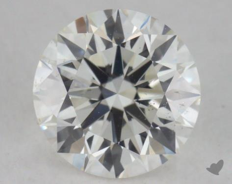 0.54 Carat H-SI1 Excellent Cut Round Diamond
