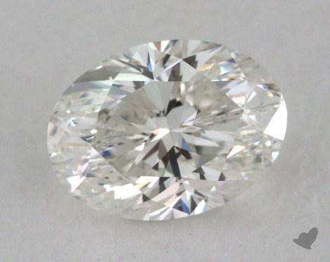 1.01 Carat H-VVS1 Oval Cut Diamond 