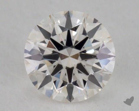 0.52 Carat I-VS1 Excellent Cut Round Diamond