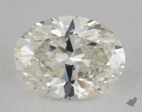 0.88 Carat H-VS2 Oval Cut Diamond