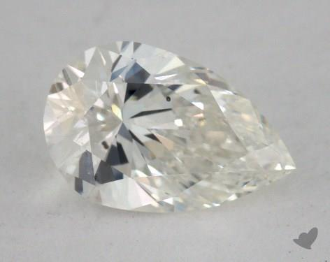 0.91 Carat H-SI2 Pear Shape Diamond