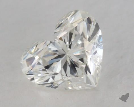 1.40 Carat H-SI1 Heart Shaped  Diamond