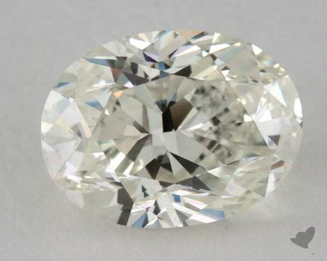 0.91 Carat K-VVS2 Oval Cut  Diamond