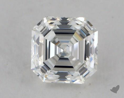 0.81 Carat H-VS1 Asscher Cut Diamond
