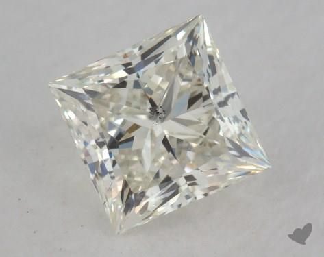 1.51 Carat J-SI1 Ideal Cut Princess Diamond