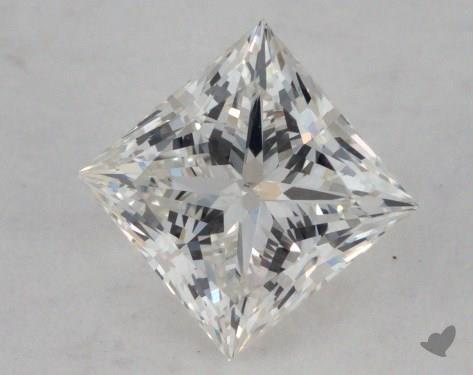 0.50 Carat I-VS2 Ideal Cut Princess Diamond