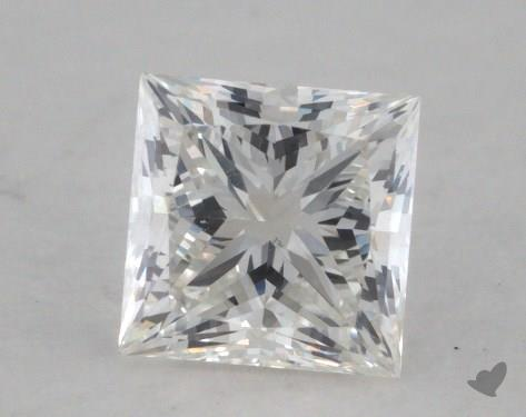 0.57 Carat H-VS2 Ideal Cut Princess Diamond