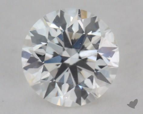 0.53 Carat G-SI1 Excellent Cut Round Diamond