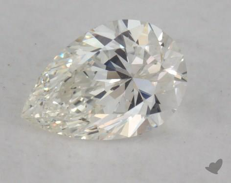 0.51 Carat H-VS2 Pear Shaped  Diamond