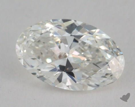 0.72 Carat H-VS2 Oval Cut  Diamond
